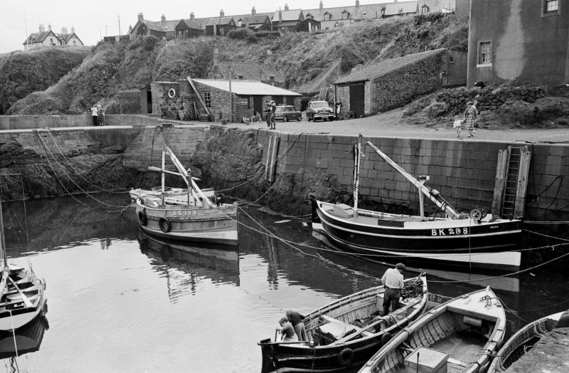 General view of St Abbs Harbour.