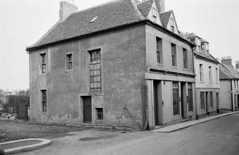 View of 18 Castle Street, Duns, from north west