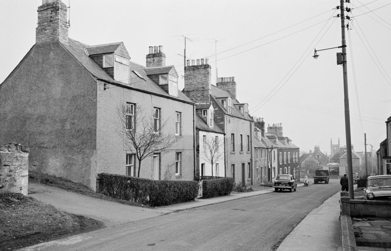View of 62-72 Castle Street, Duns, from north west