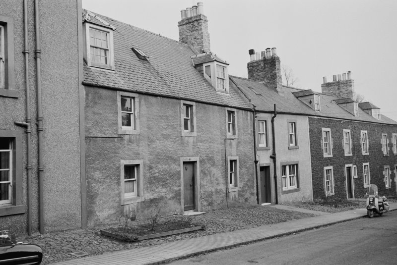 View of 62-66 Castle Street, Duns, from west
