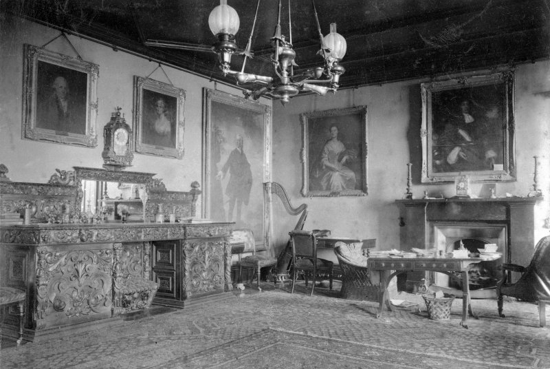 Interior. Dining room