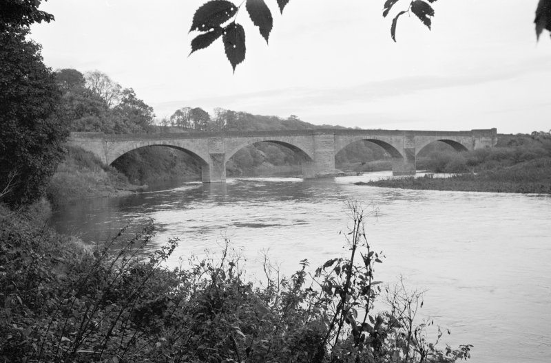 General view of Ladykirk and Norham Bridge