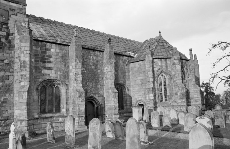 View from south west of St Mary's Church, Ladykirk