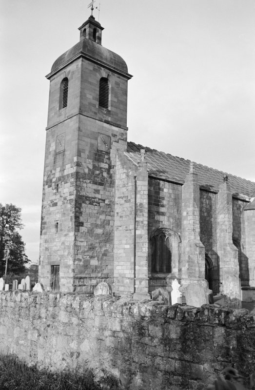View from south of St Mary's Church, Ladykirk