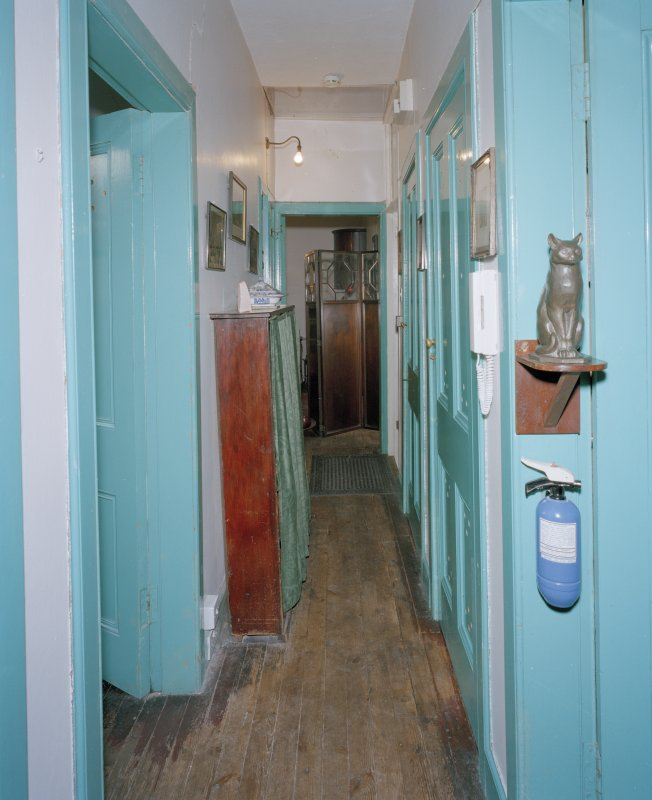 First floor, corridor, view from Western end