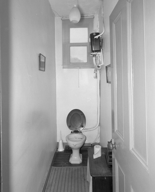 First floor, toilet, view from South