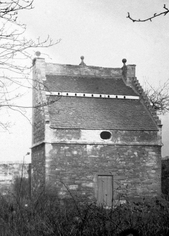 View of dovecot at Preston Tower from S.