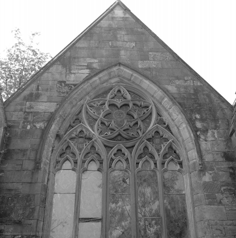East front, window, detail