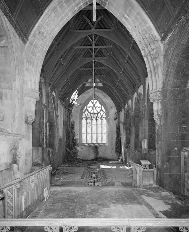 Interior, view from East