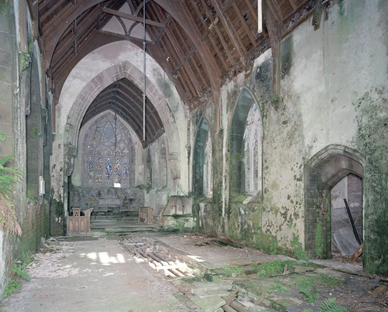 Interior, view from West