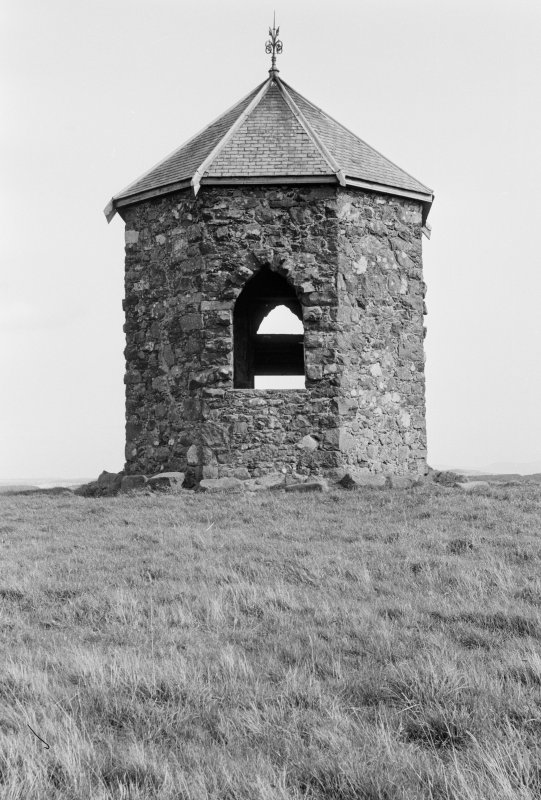 General view of Baron's Folly, Down Law.