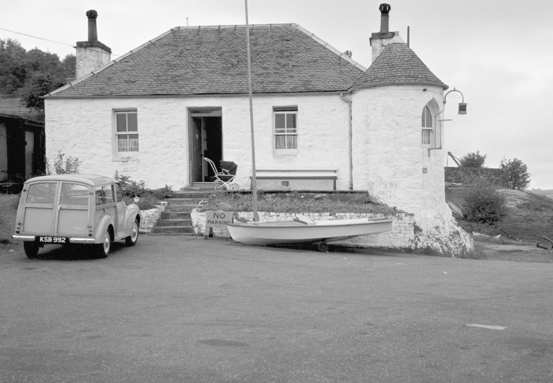 View of Piermaster's house, Oban