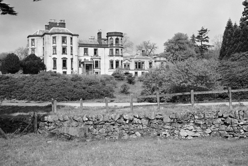 View of Kirroughtree House from east
