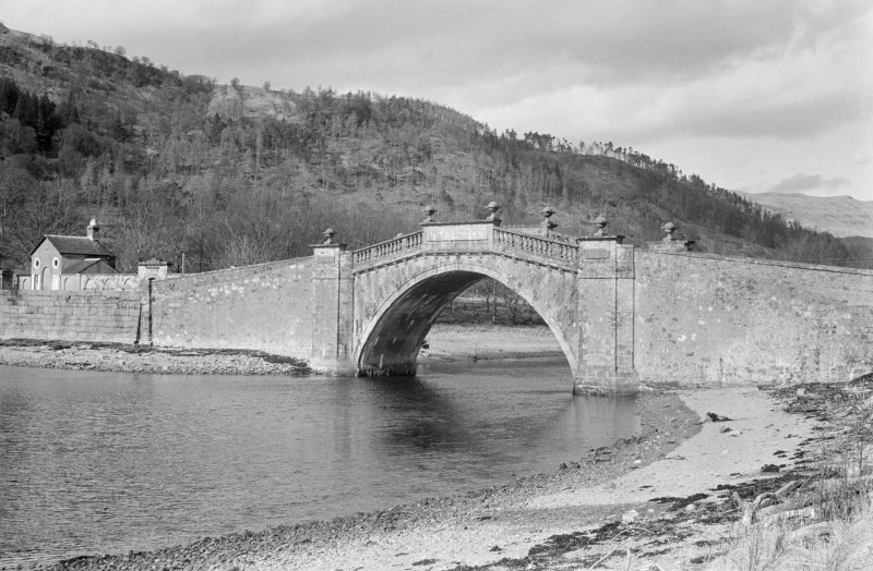 View of Garron Bridge, Inveraray Castle Estate