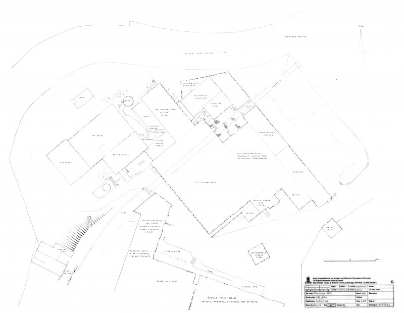 Johnstone Mill: Site Plan, sheet 1 of 5