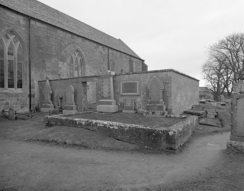 Fearn Abbey.  View of St. Michael's aisle from West South West.