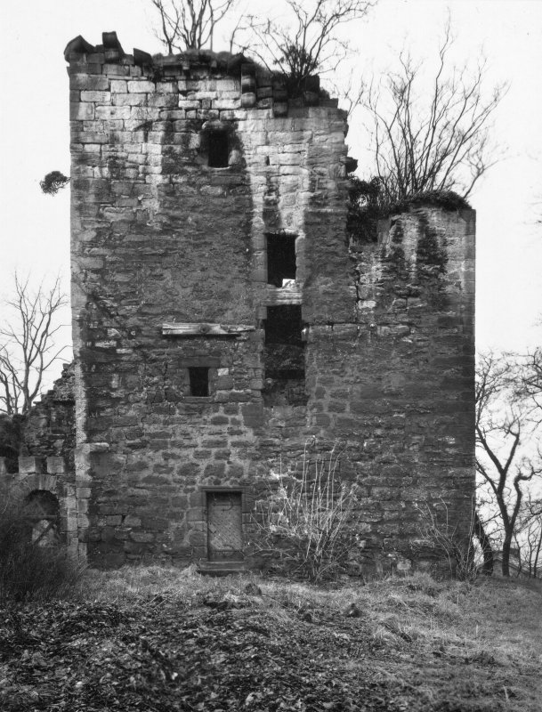 Glasgow, Old Castle Street, Cathcart Castle. View from South-East.