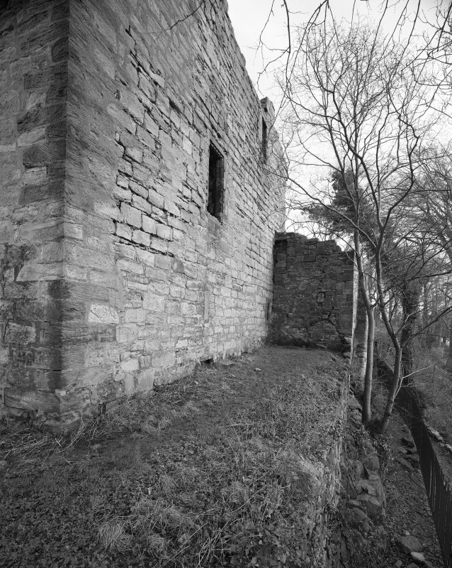 Glasgow, Old Castle Street, Cathcart Castle. General view of South facade from West.