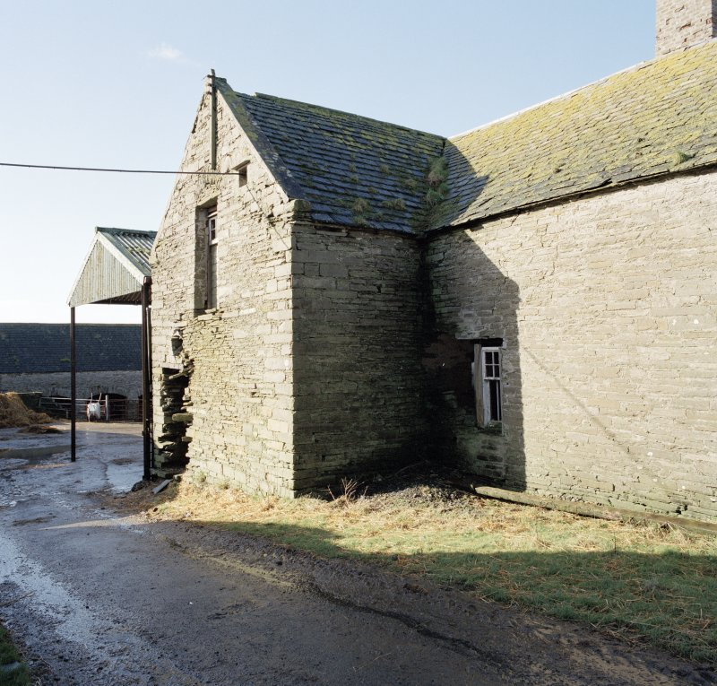 View of threshing barn from North East.