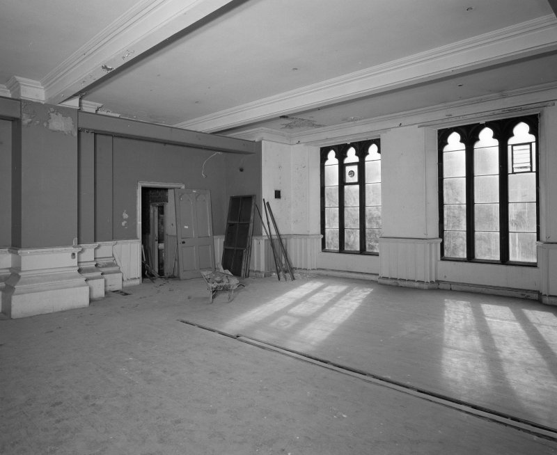 View of ground floor South West room from North West