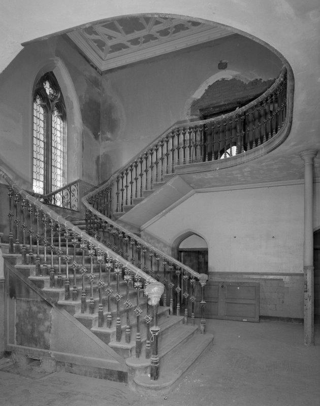 View of west stair hall from South East