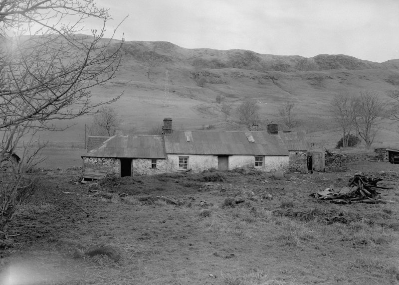Auchindrain, Building H. View from South.