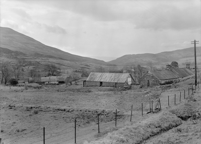 Auchindrain. General view from North East.
