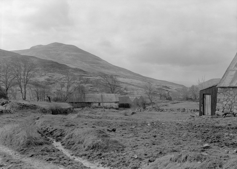 Auchindrain. View of part of township from North East.