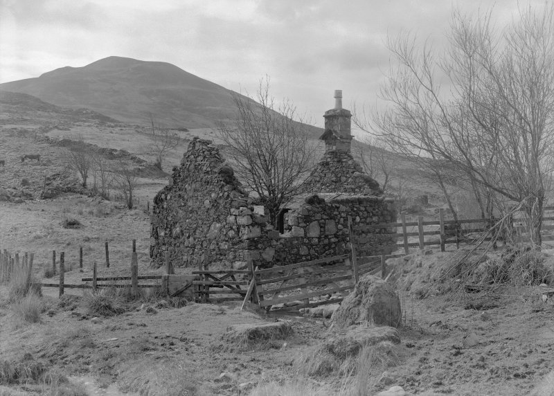 Auchindrain, Building M. General view.