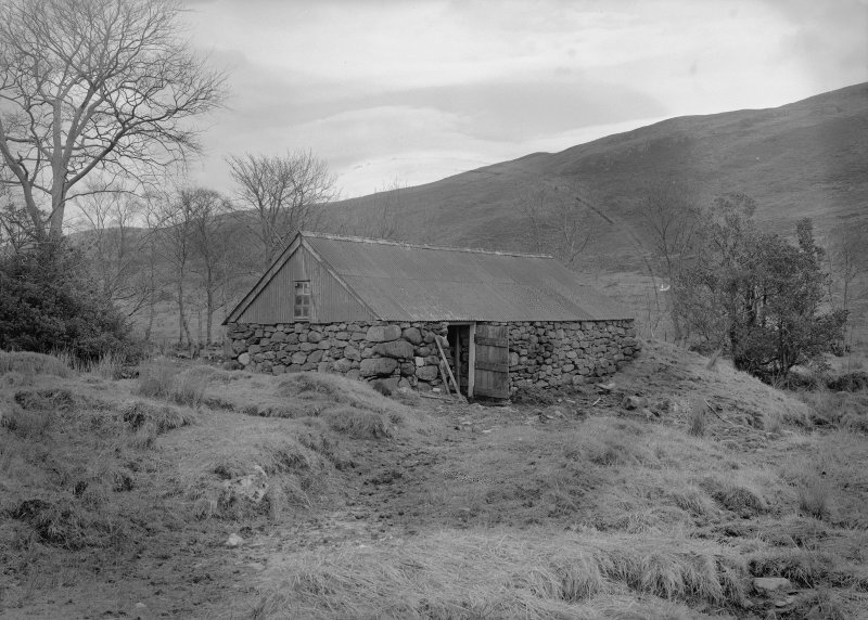 Auchindrain, Building K. View from East.