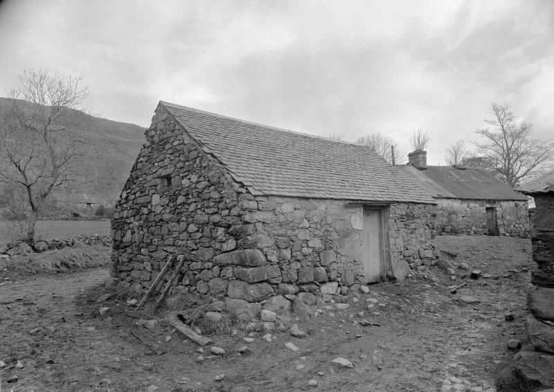 Auchindrain, Building E. View from South.