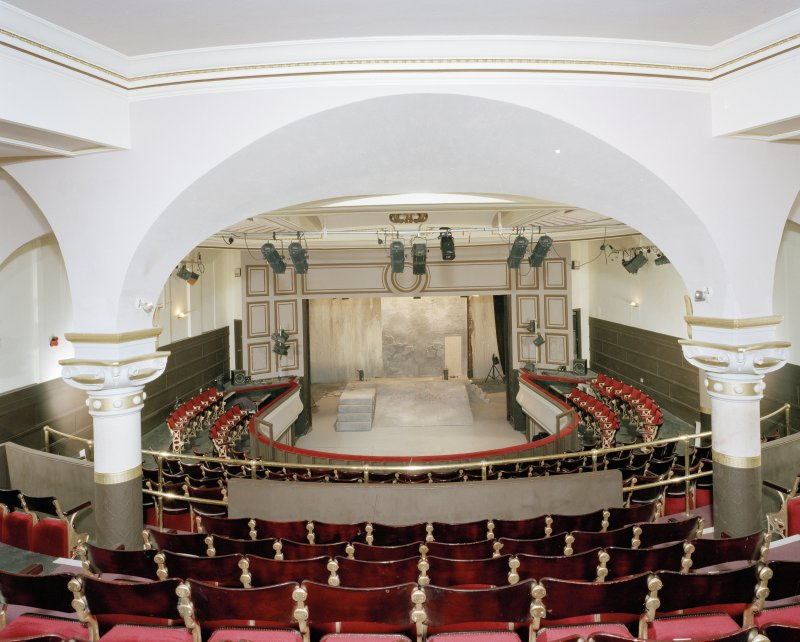Auditorium, circle level, view from East