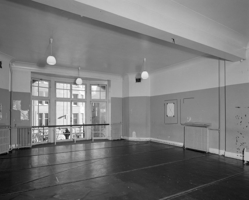 Second floor, East room, view from West