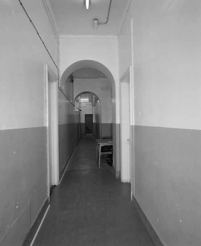 Second floor, view of corridor
