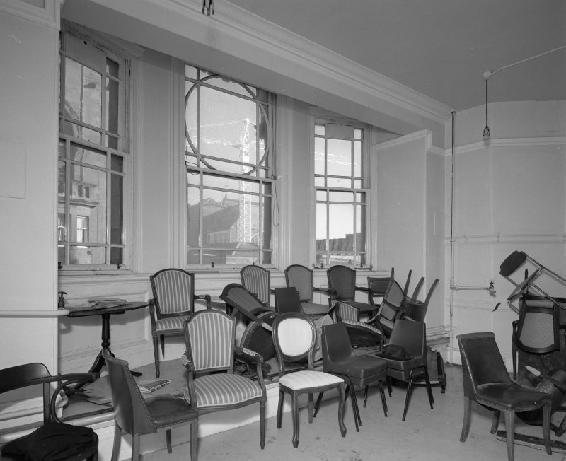 Third floor, East room, view from North West