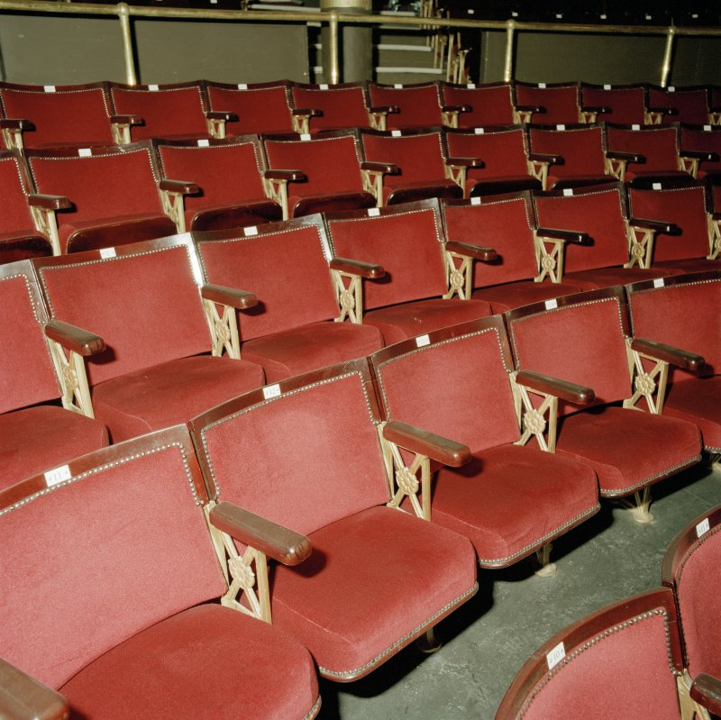 Auditorium, seating, detail