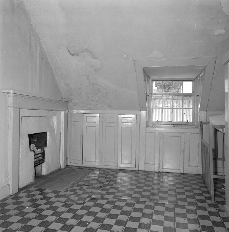Attic, view of ironing room