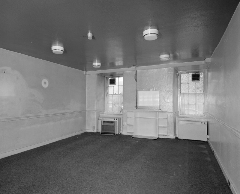 Interior. View of ground floor former staff room