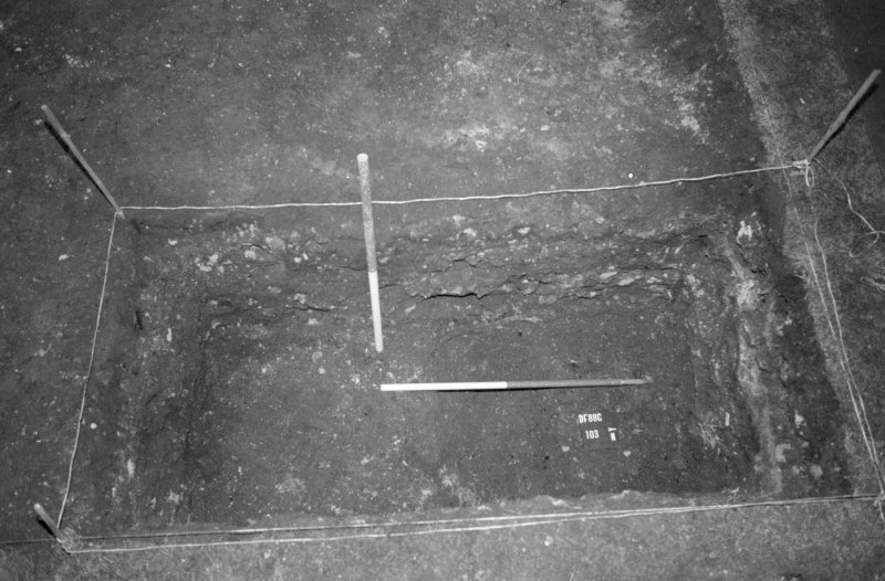 Excavation photograph: record shot, 103, looking east.