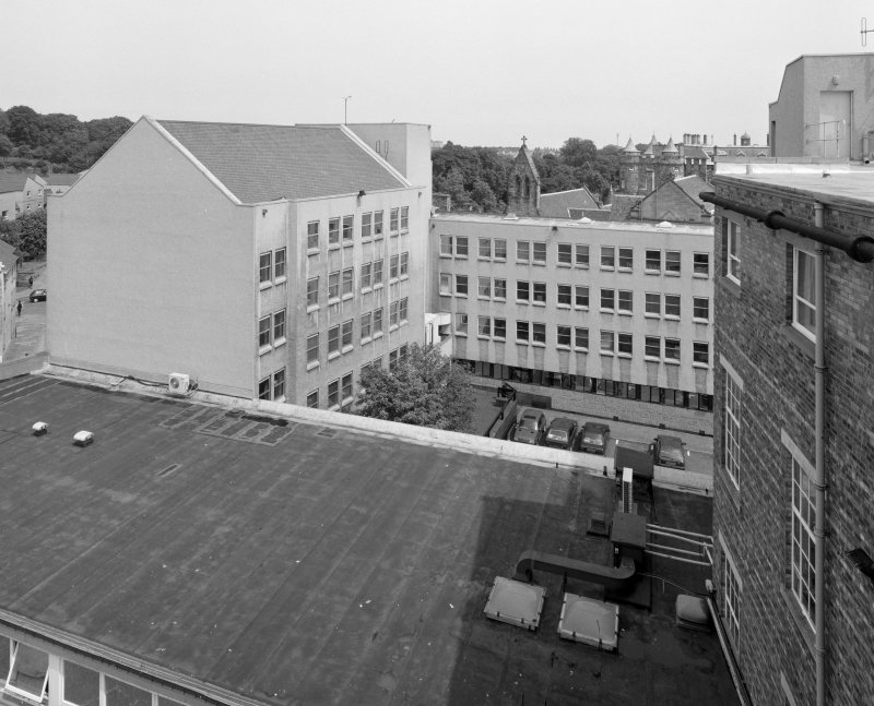 1970's Office Building View of N block from WSW