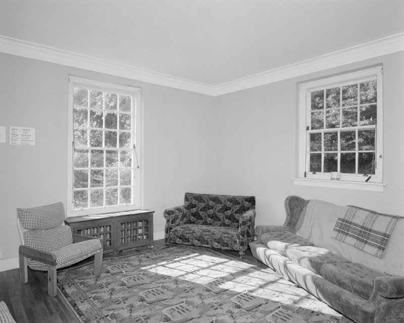 Ground floor dining room, view from North