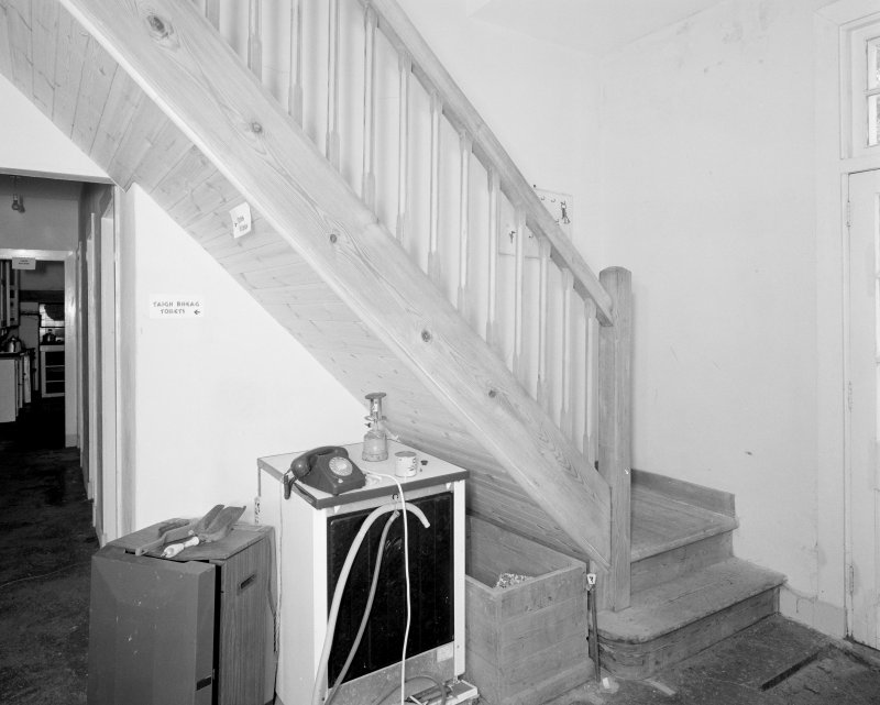 View of staircase at ground floor level
