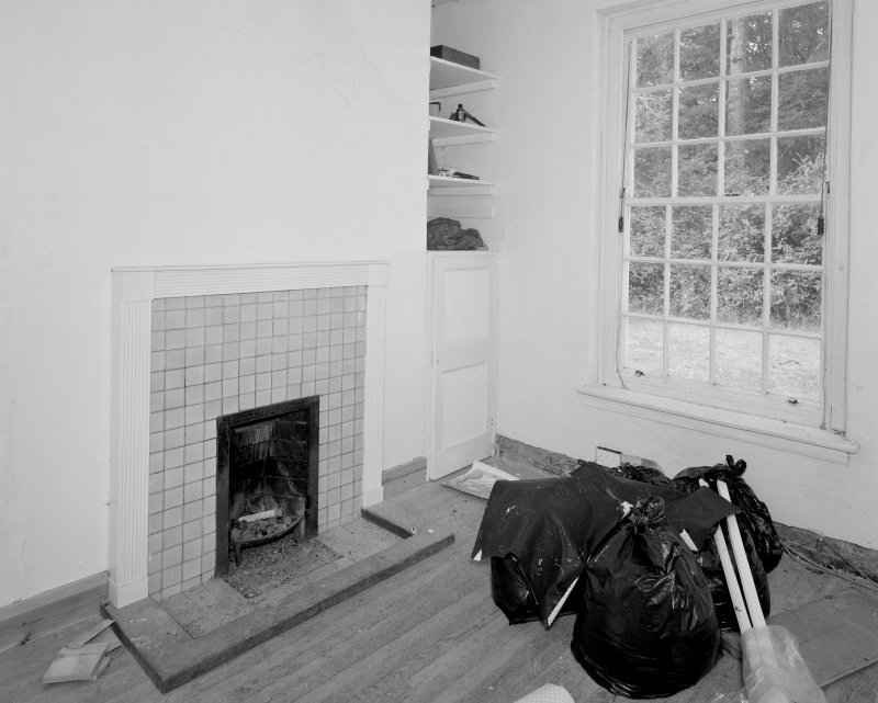 Ground floor small sitting room, view from East