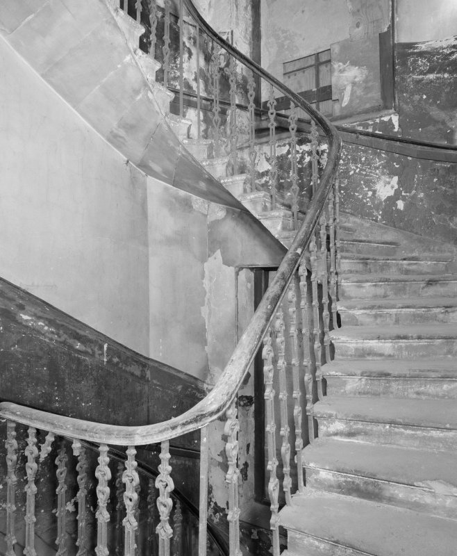 Interior. View of second floor staircase.