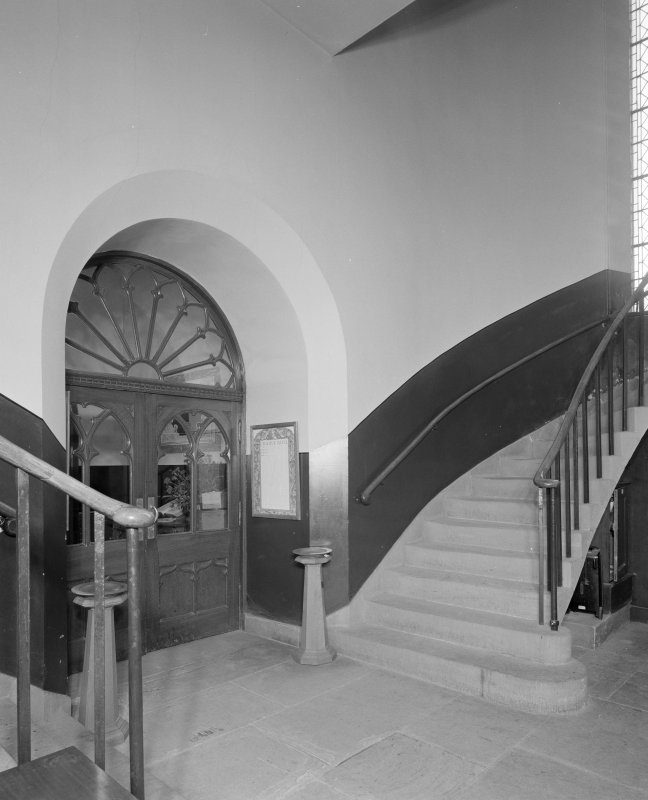 View of staircase hall