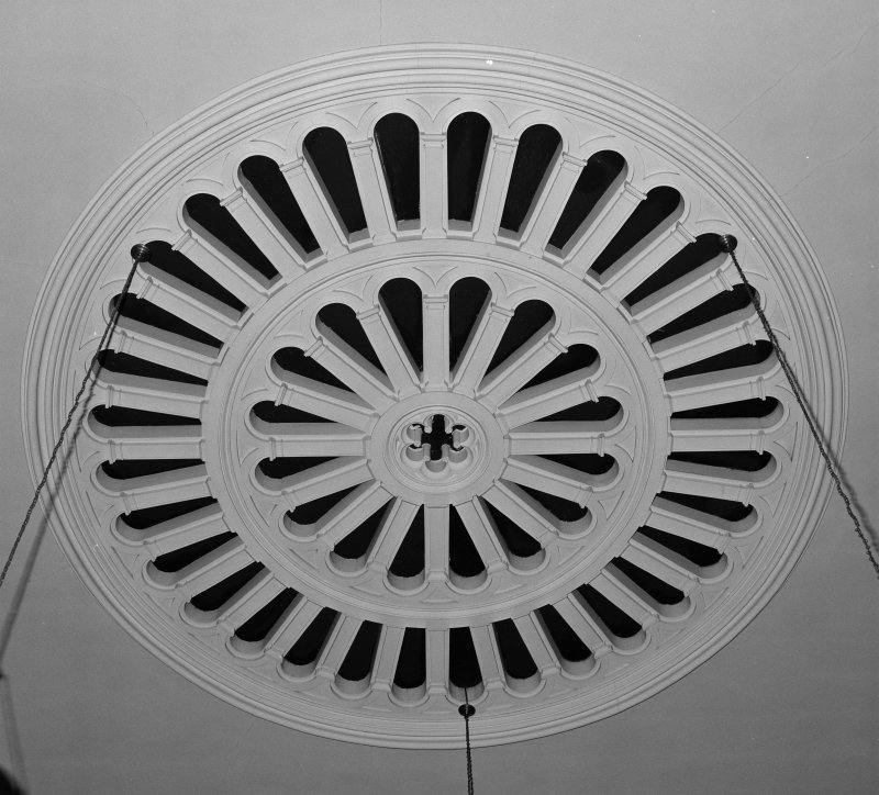 Detail of ceiling ventilator