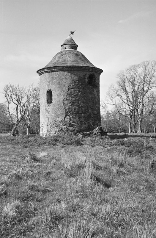 View of Genoch Mains dovecot