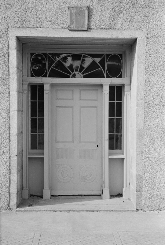 Detail of doorway, Abergeldie Castle