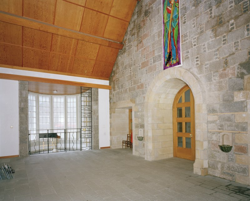 View of narthex from South South East