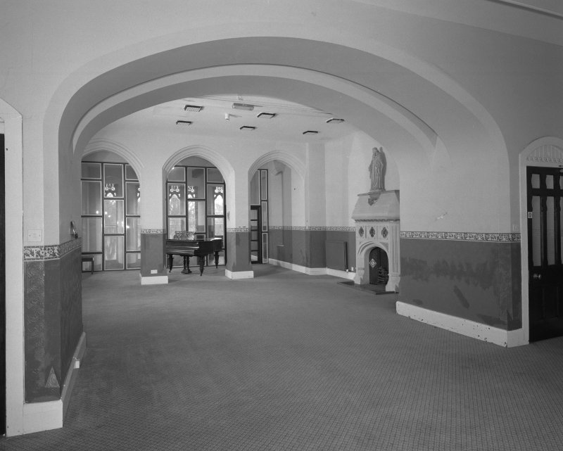 View of first floor gallery from North East